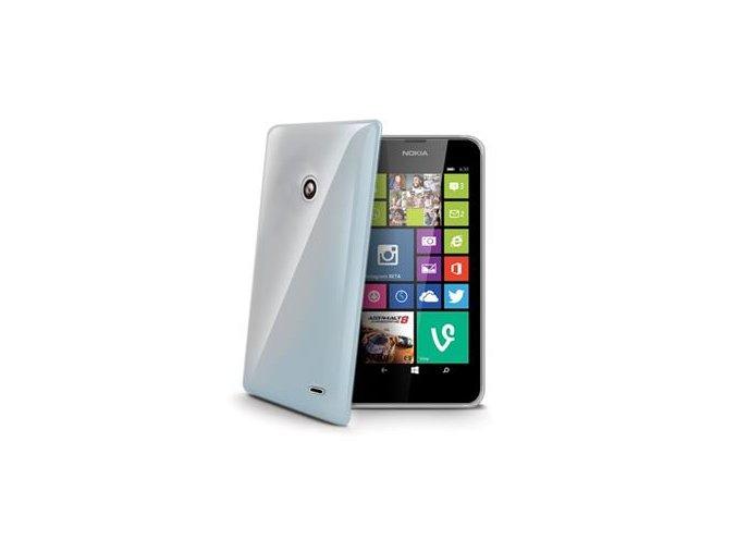 TPU pouzdro CELLY Gelskin pro Nokia Lumia 630:635
