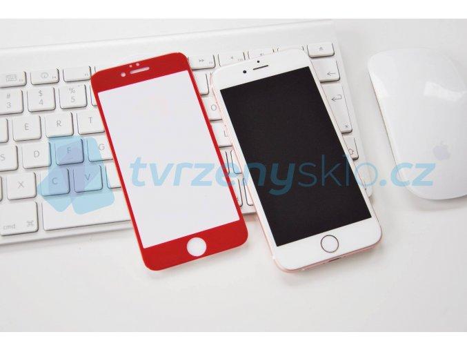 Premium Red iPhone Tvrzené Sklo