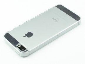 ultratenke zadni silikonove pouzdro pro iphone 5 5s pruhledne 7431