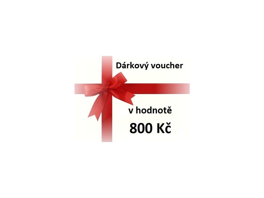 voucher 800 Kč