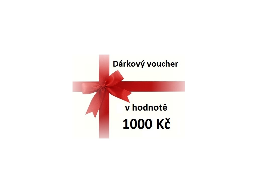 voucher 1000 Kč