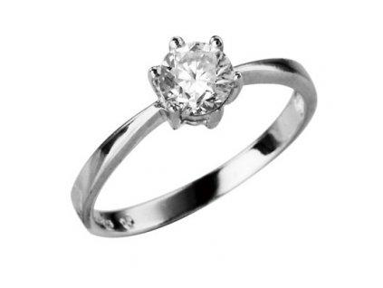 prsten stribrny srj35
