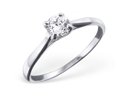 Stříbrný prsten KAN