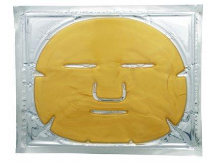 kolagenova oblicejova maska se zlatem collagen crystal mask 1 ks
