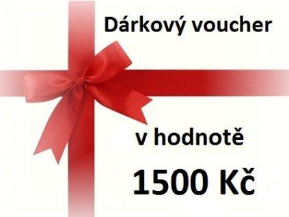 voucher 1500 Kč