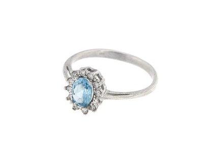 Stříbrný dámský prsten R0247