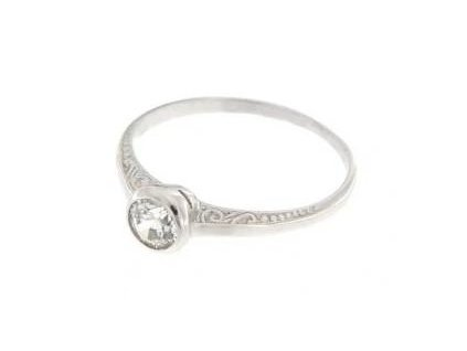 Stříbrný dámský prsten R1443