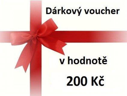 voucher 200 Kč