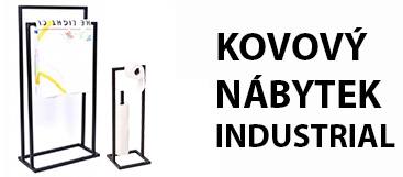 KOVOVÝ NÁBYTEK STYL INDUSTRIAL / LOFT