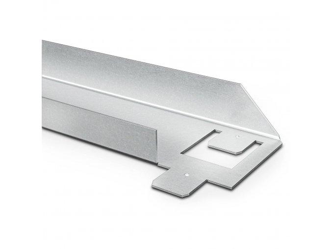 Kovový Regál Řada Standard II 180x90x50 5 políc Nosnost 1000KG- Pozinkovaný