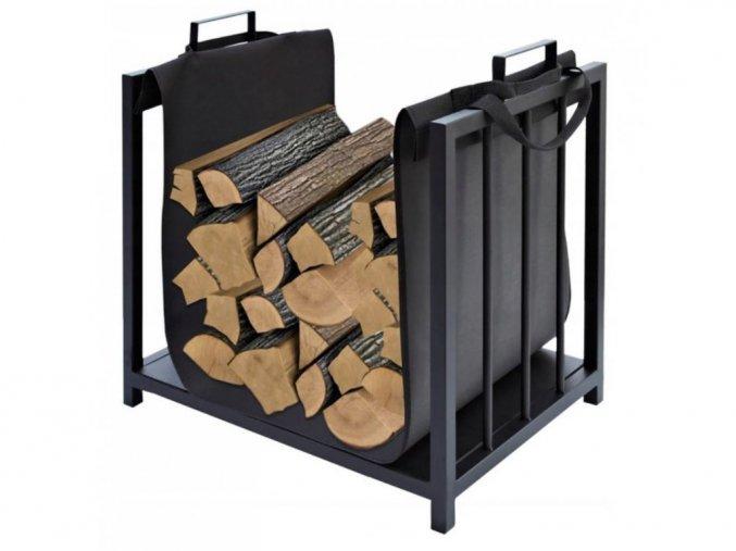Regál na dřevo kovový SDK2