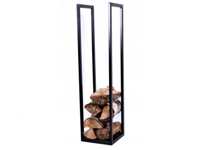 Regál na dřevo kovový SDK3