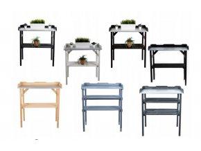 Univerzální příruční stolek- Barevné varianty
