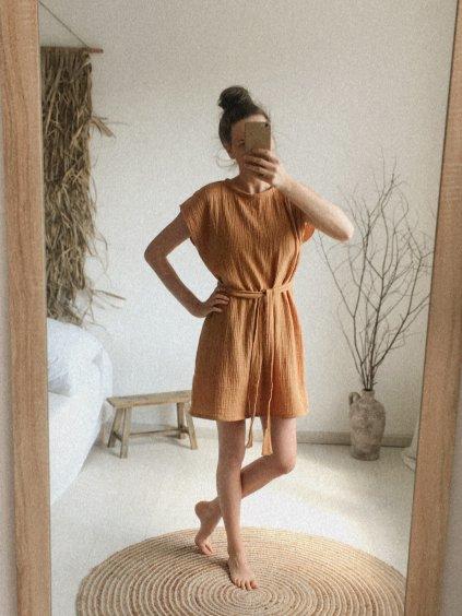 Mušelínové šaty Mia