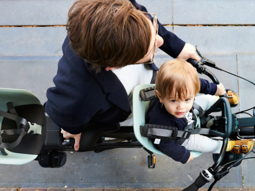 Dětské cyklosedačky Origos