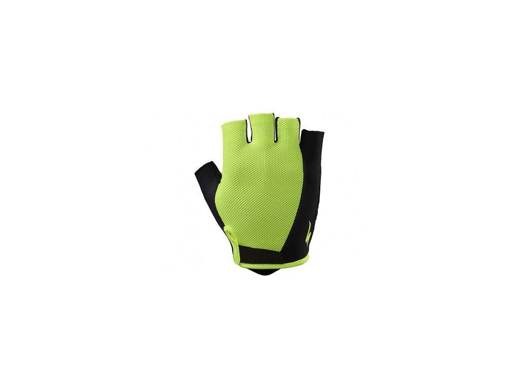 rukavice specialized bg sport neon yellow s