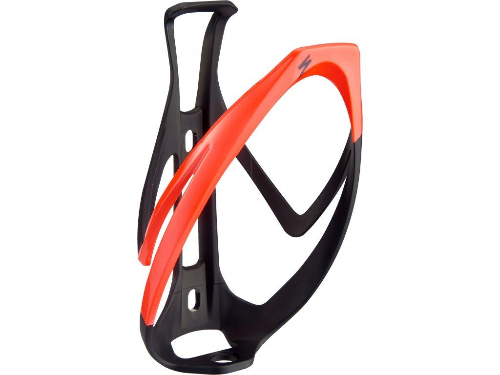 barva Matte Black Rocket Red