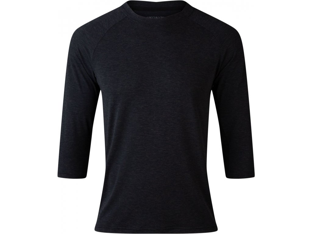 Specialized Men's Enduro drirelease® Merino 3/4 Jersey Black (Velikost S)