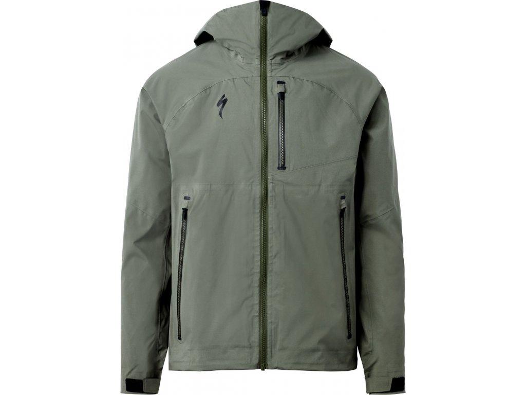 Specialized Deflect™ H2O Mountain Jacket Oak Green (Velikost XS)