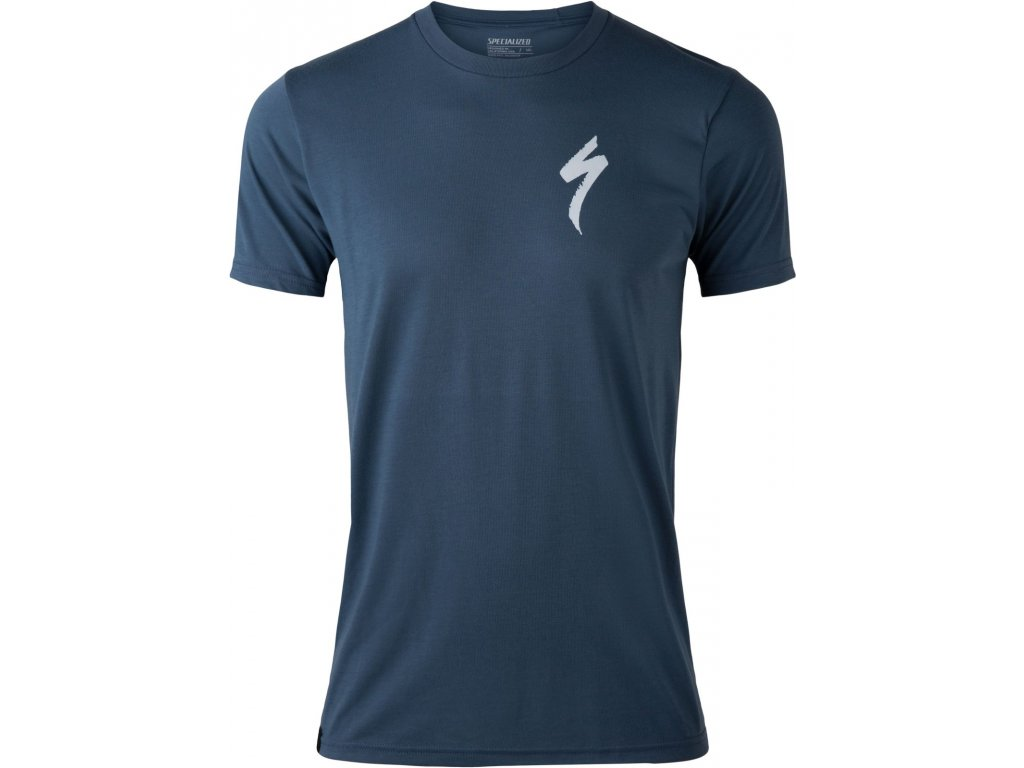 Specialized Men's Specialized T-Shirt Cast Blue (Velikost S)