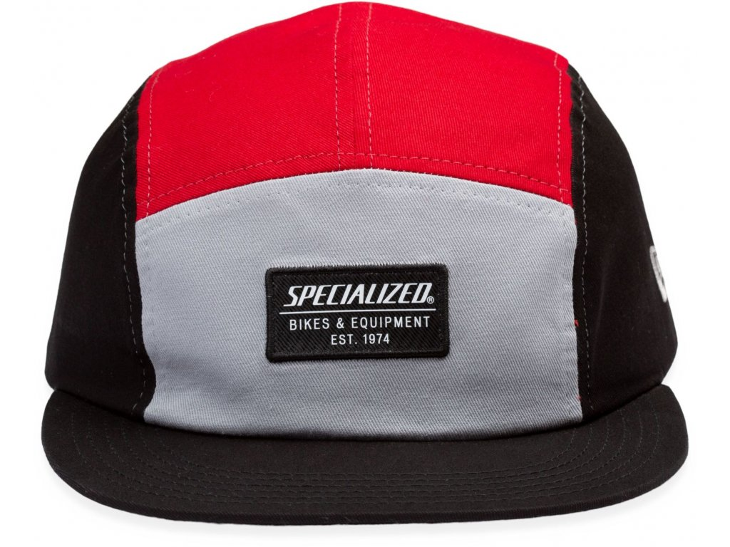 Specialized New Era 5-Panel Specialized Hat Black/Red (Velikost Uni)