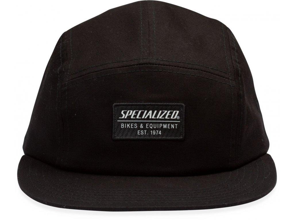 Specialized New Era 5-Panel Specialized Hat Black (Velikost Uni)
