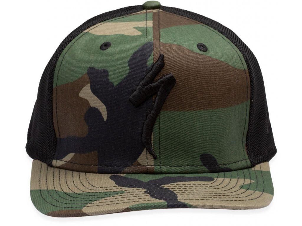 Specialized New Era S-Logo Trucker Hat Oak Green (Velikost Uni)