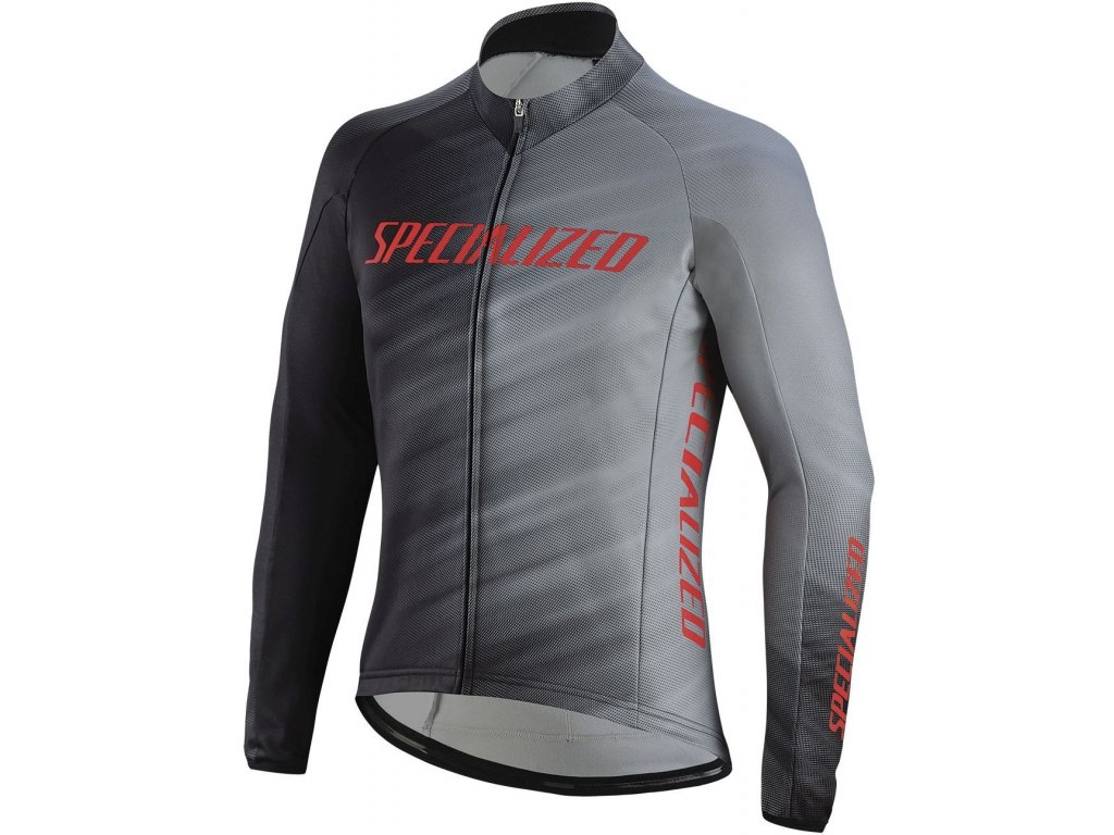 Specialized Element RBX Comp Faze LS Jersey Grey/Black Faze