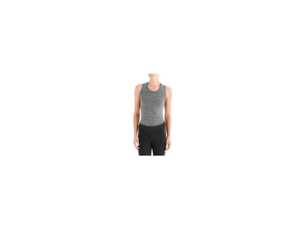Specialized Women's Seamless Sleeveless Base Layer Heather Grey