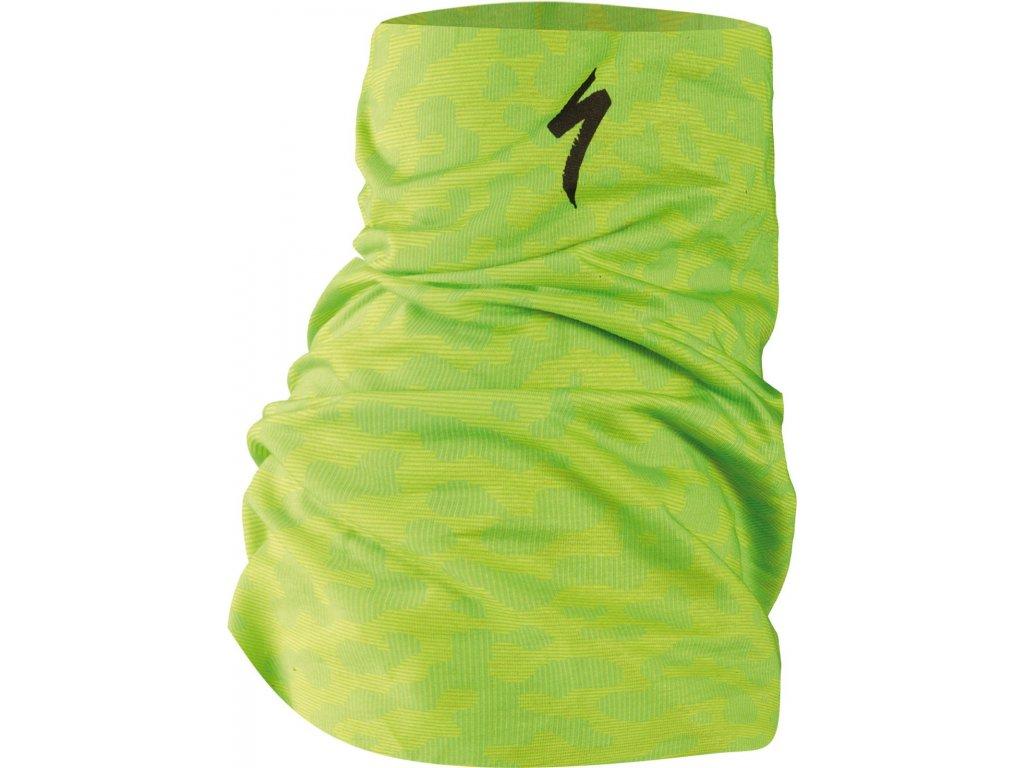 Specialized Tubular Headwear Terrain Hyper Green/Monster Green