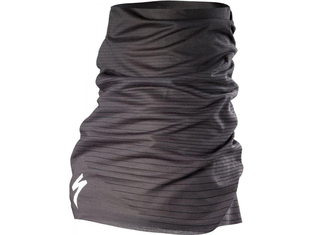 Specialized Tubular Headwear S-Logo Black/Charcoal (Velikost Uni)