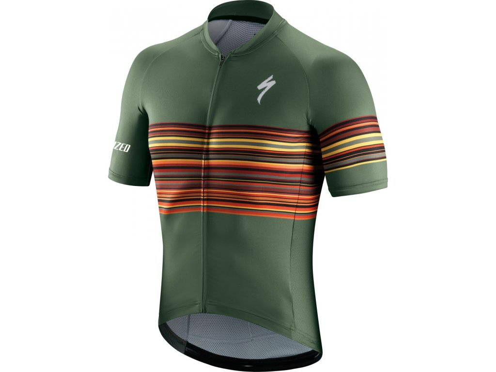 Specialized SL SS Jersey Military Green (Velikost S)