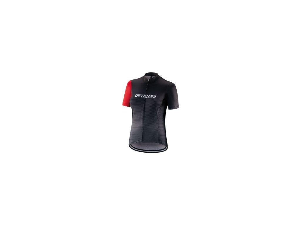 Specialized RBX Comp Logo Team SS Women's jersey Black/Charcoal/Red