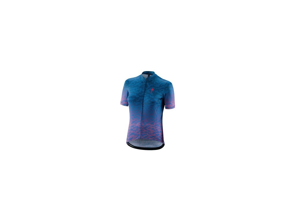 Specialized RBX Comp Terrain SS Women's Jersey Acid Pink/Pro Blue
