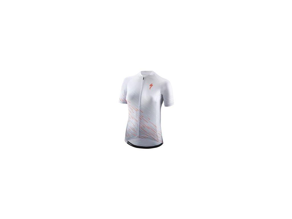 Specialized SL SS Women's Jersey White/Acid Lava