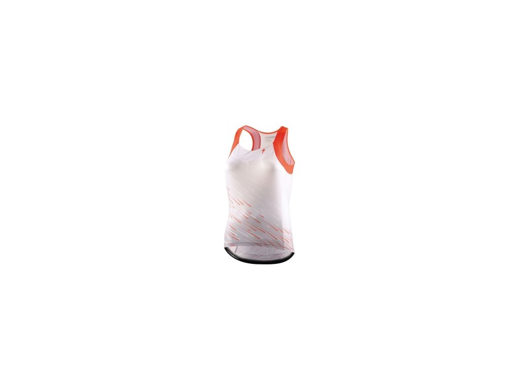 Specialized SL Women's Tank White/Acid Lava (Velikost XS)