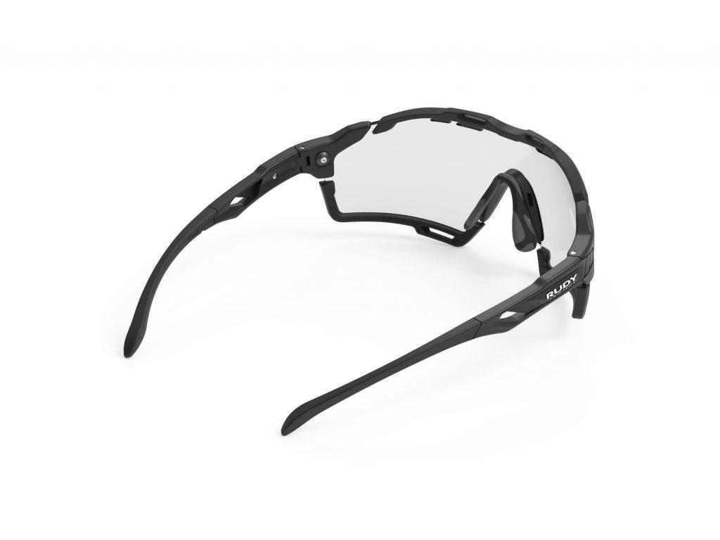 Sportovní sluneční brýle CUTLINE - Black Matte/ImpactX Photochromic 2 Black