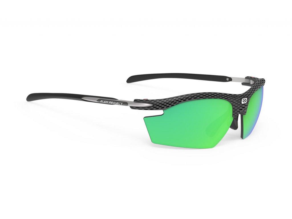 Brýle RYDON - Carbon/Polar 3FX HDR Multilaser Green