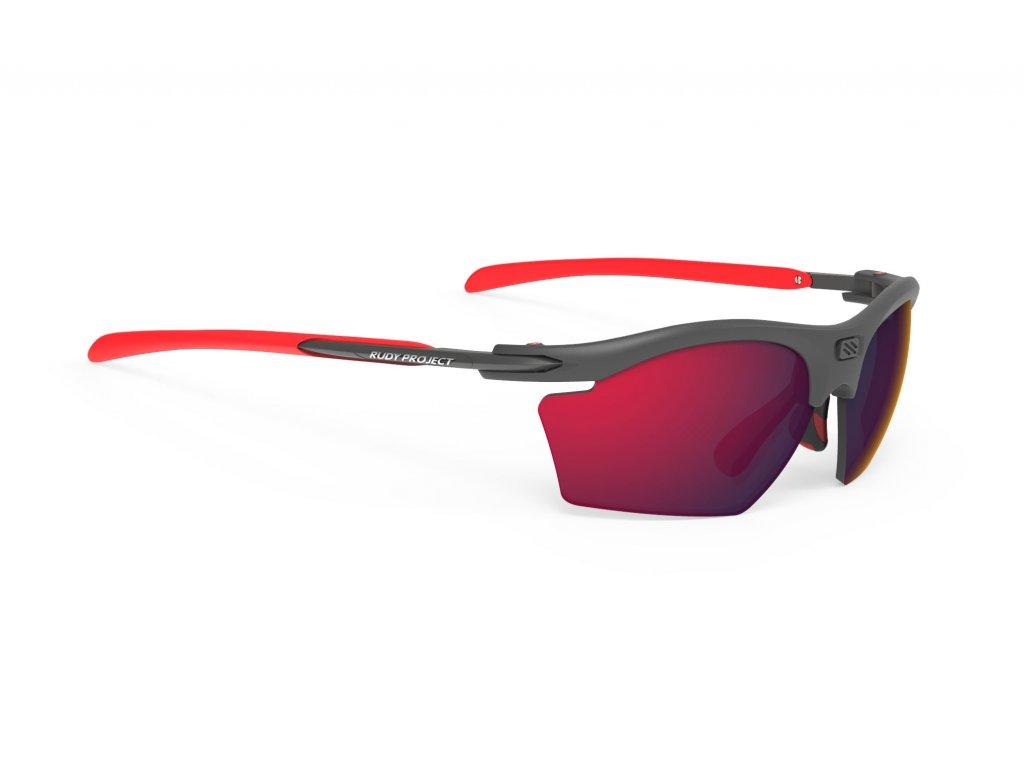 Brýle RYDON SLIM - Graphite/Polar 3FX HDR Multilaser Red