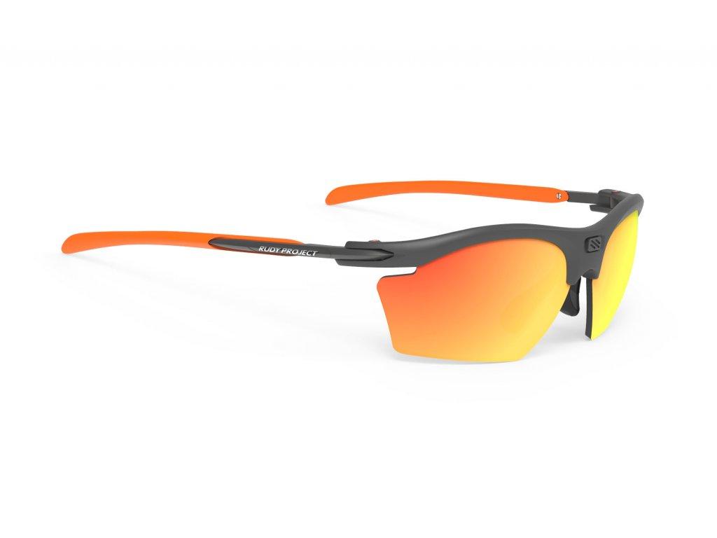 Brýle RYDON SLIM - Graphite/Polar 3FX HDR Multilaser Orange