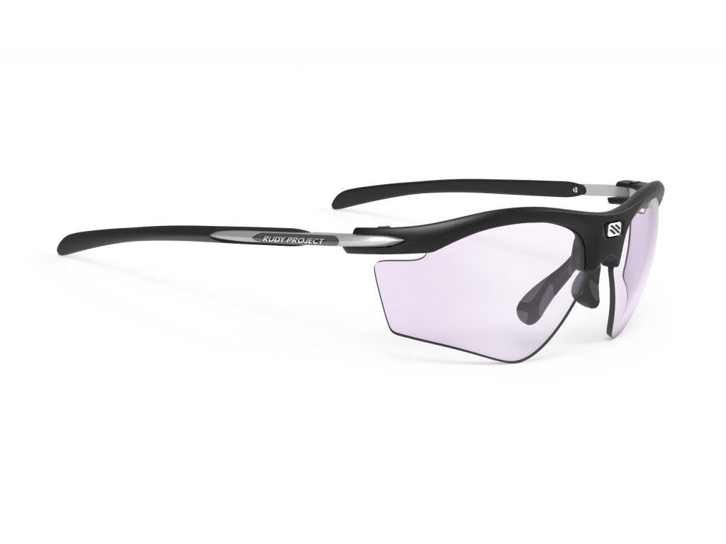 Brýle RYDON SLIM GOLF - Golf Black Matte/Impactx Photochromic 2 Laser Purple