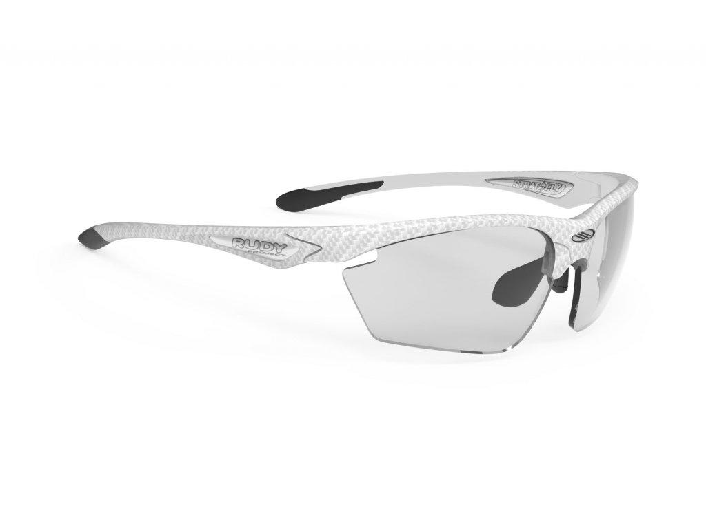 Brýle STRATOFLY - White Carbon/ImpactX Photochromic 2 Black