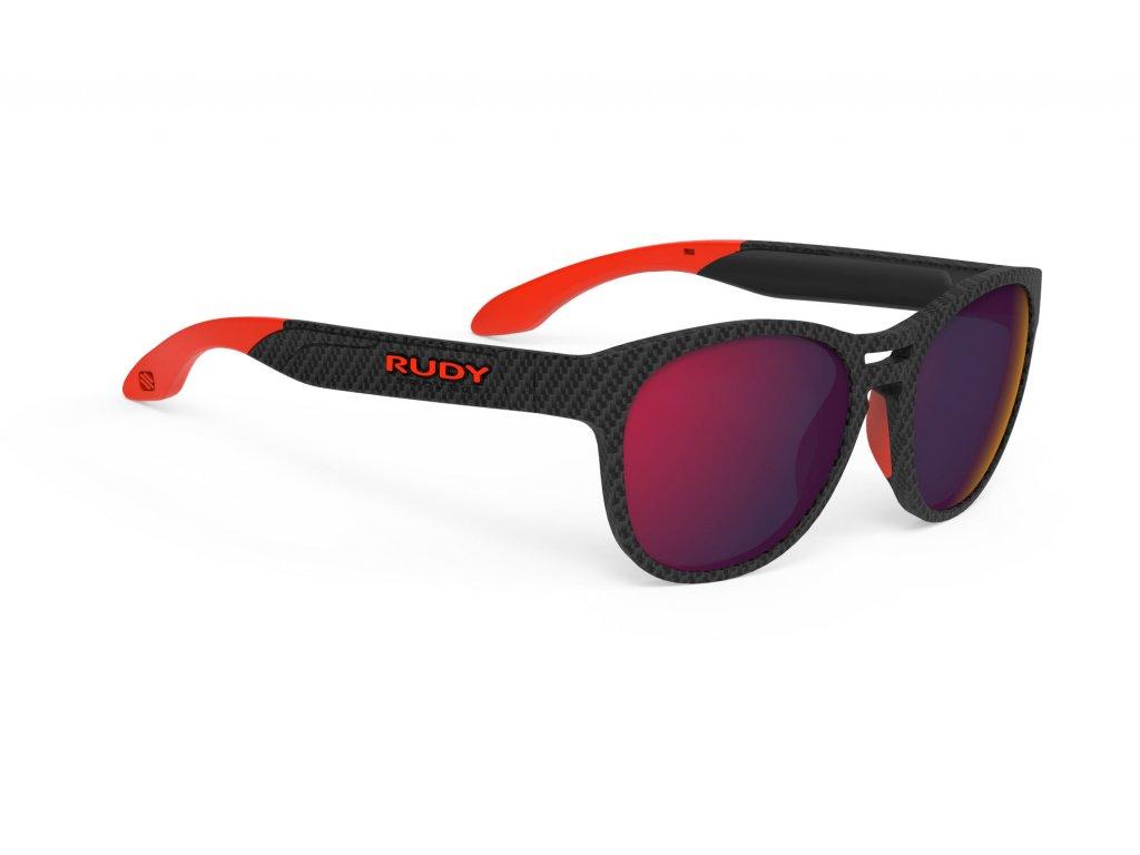 Brýle SPINAIR 56 - Carbonium/Polar 3FX HDR Multilaser Red