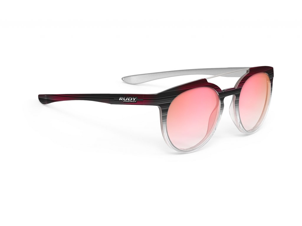 Brýle ASTROLOOP - Blackcoral Streaked Gloss/RP Optics Multilaser Pink