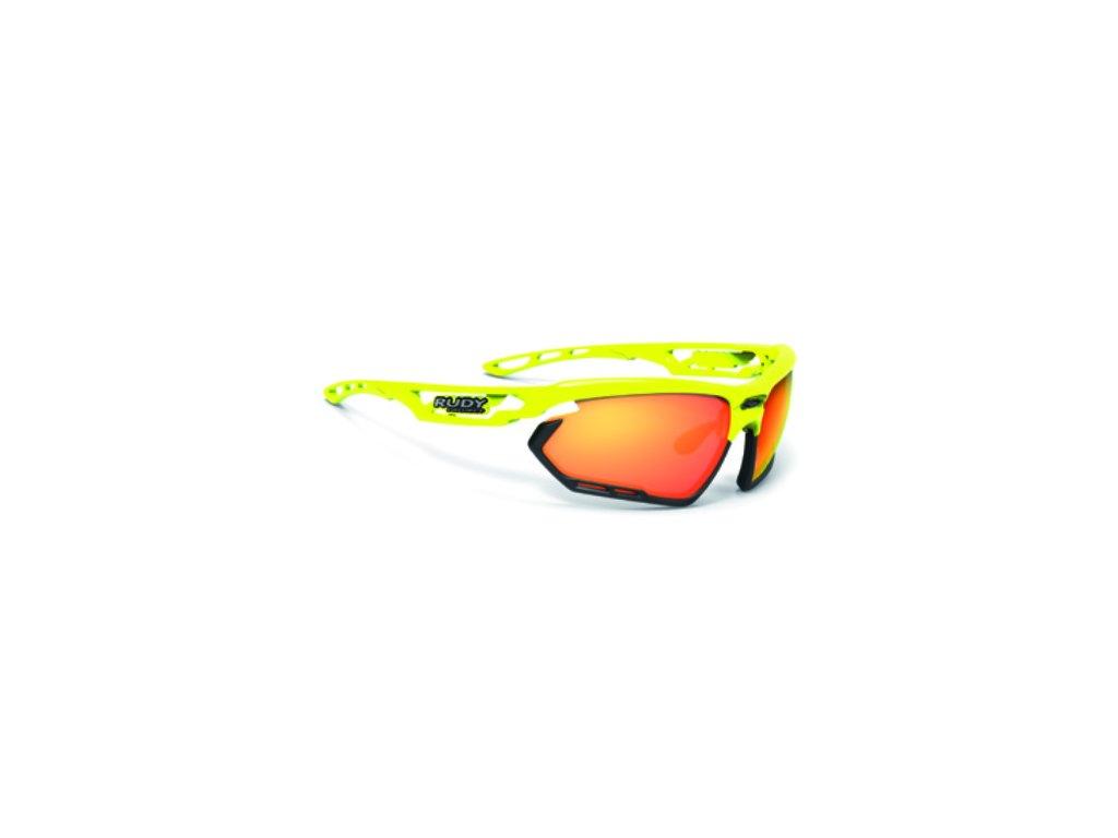 Brýle FOTONYK - Yellow Fluo Gloss/RP Optics Multilaser Orange