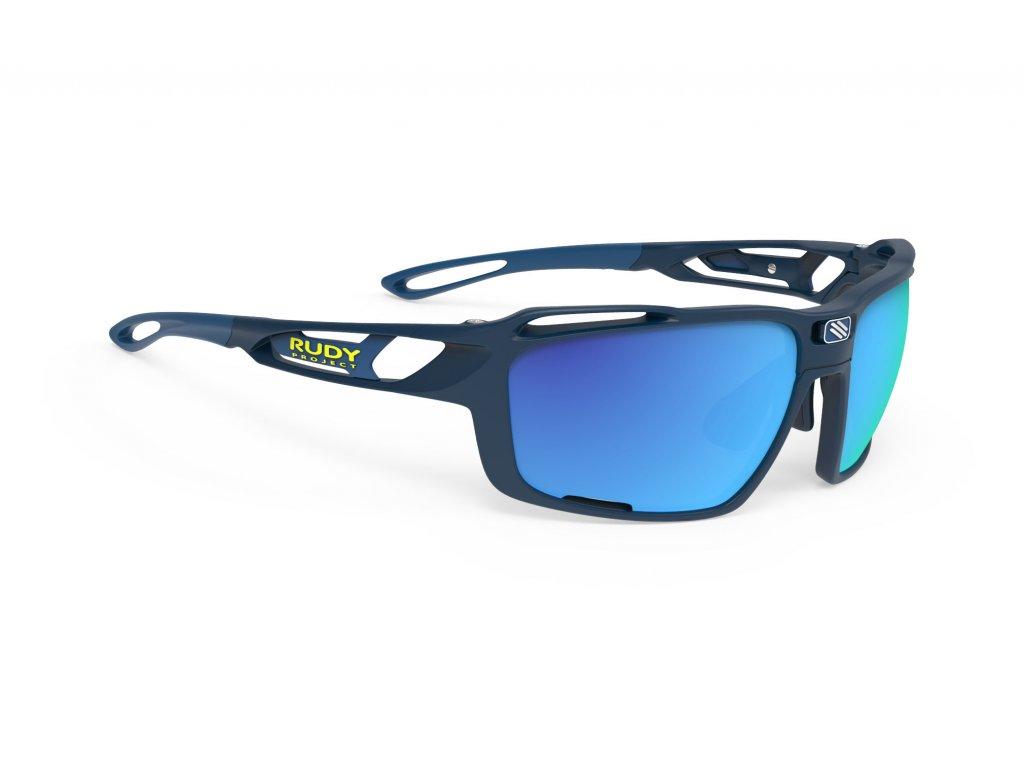 Brýle SINTRYX - Blue Navy Matte/Polar 3FX HDR Multilaser Blue