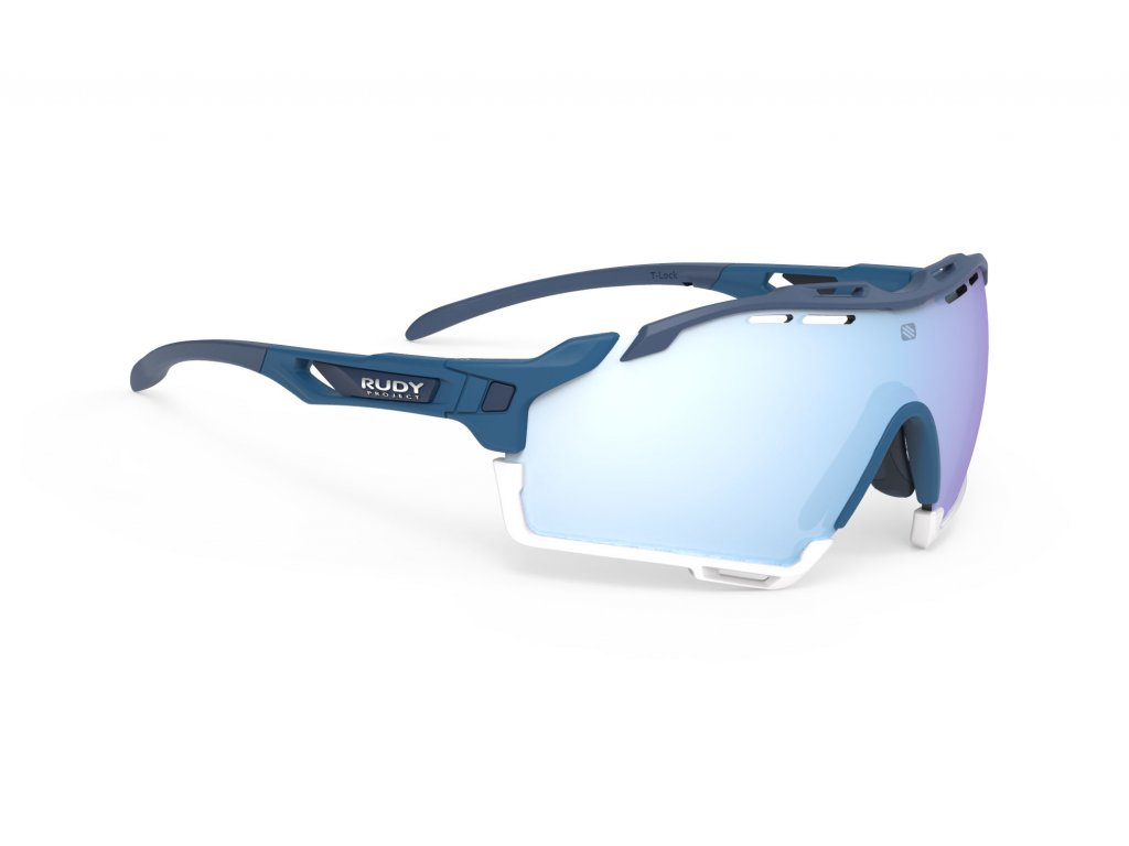 Brýle CUTLINE - Pacific Blue (Matte)/RP Optics Multilaser Ice