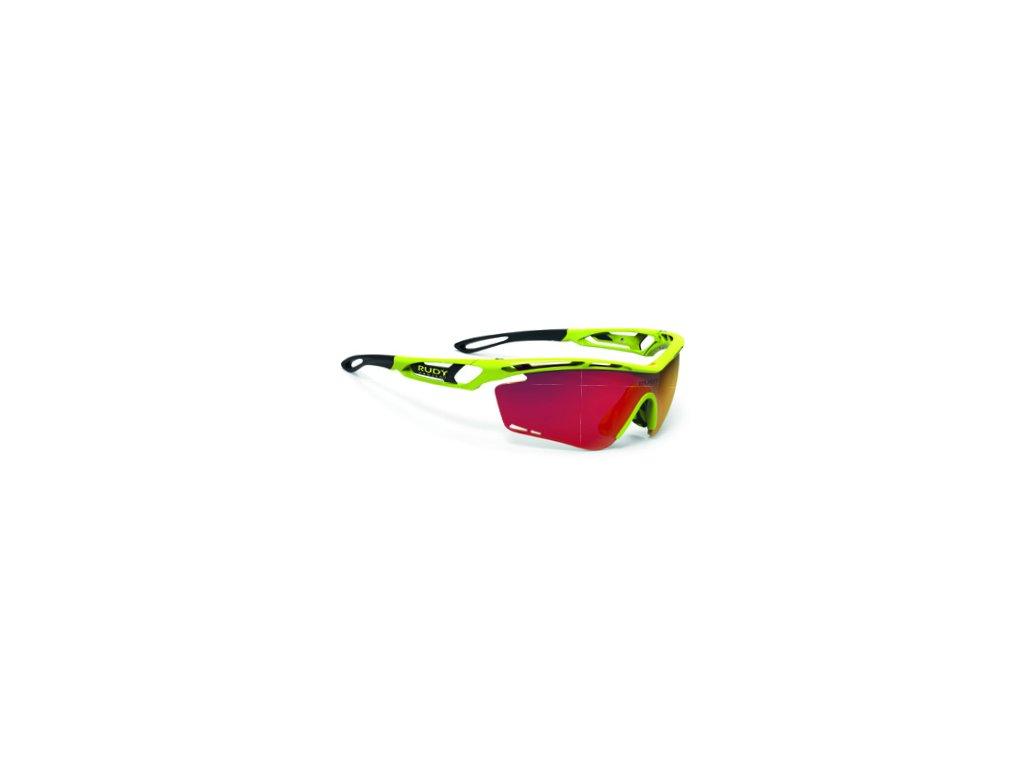 Brýle TRALYX - Yellow Fluo Gloss/Multilaser Orange