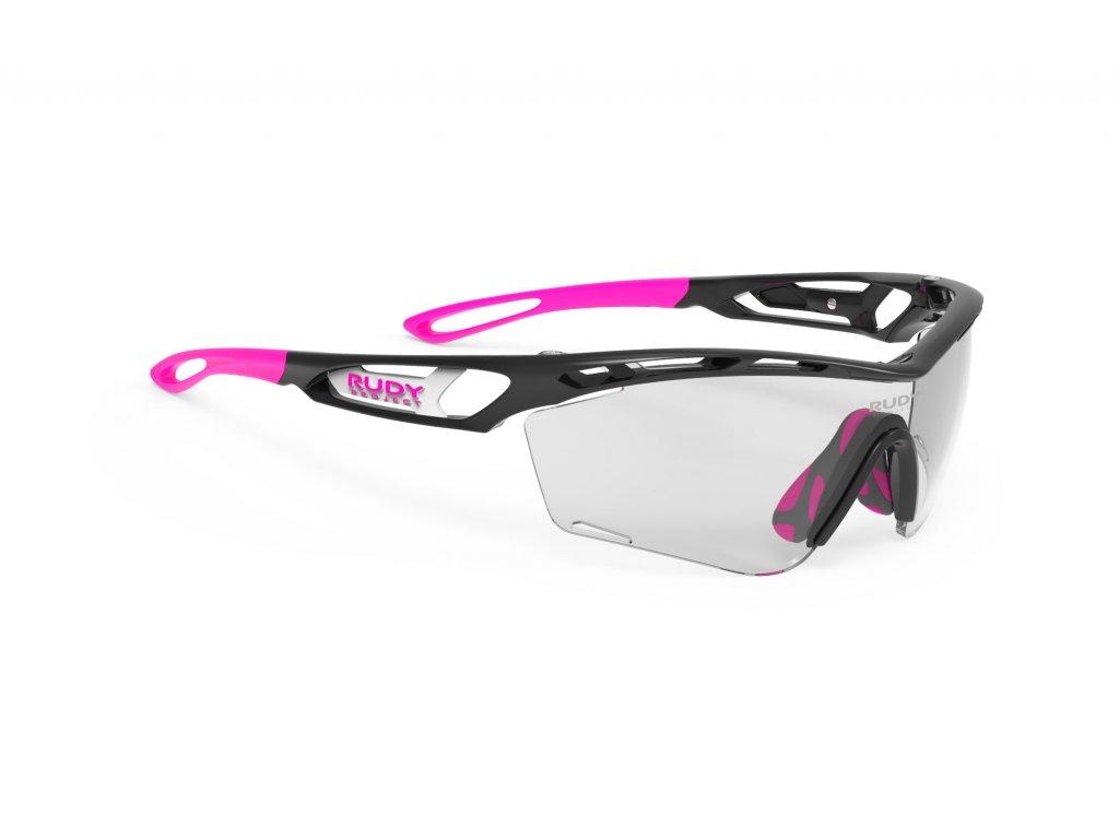 Brýle TRALYX SLIM - Black Gloss/ImpactX Photochromic 2 Black