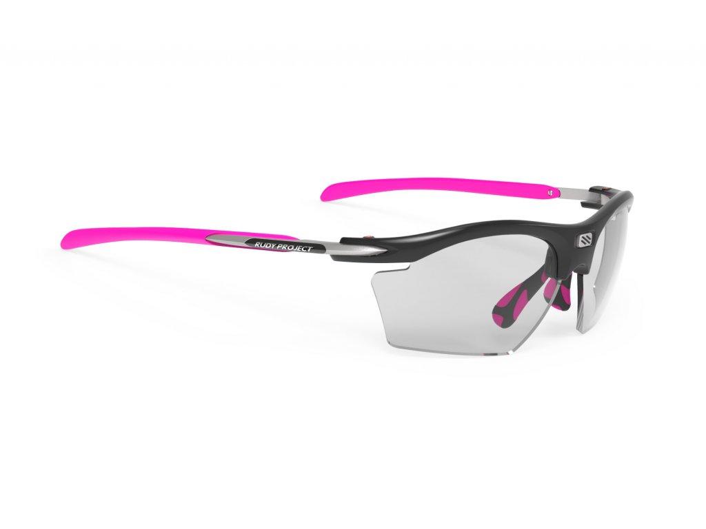 Brýle RYDON SLIM - Black Gloss/ImpactX Photochromic 2 Black